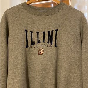 Unique Illinois crewneck
